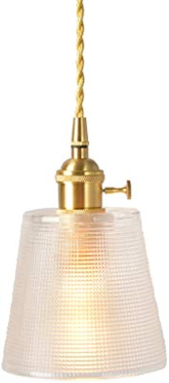 EUJEID Vintage Glass Kronleuchter, Justierbare Moderne Hngende Metall Pendelleuchten LED Nordic Half Embedded Deckenleuchte Für Wohnzimmer Esszimmer Schlafzimmer Loft, Transparent