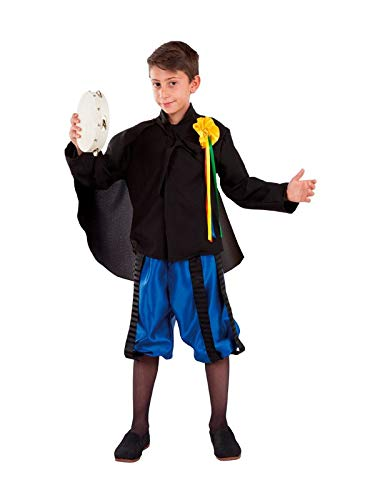 DISBACANAL Disfraz de tuno para niño - -, 6 años