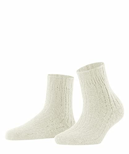 FALKE Damen Bedsock Rib W SO Socken, Weiß (Off-White 2049), 39-42