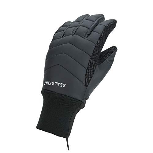 SealSkinz Women's Waterproof All Weather Lightweight Insulated Gant Femme, Noir, s