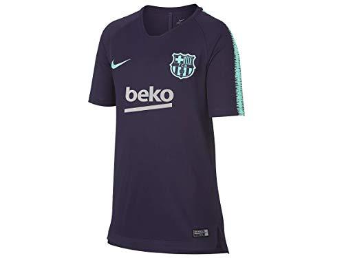 NIKE FCB Y NK BRT SQD Top SS - Camiseta, Unisex Infantil,...