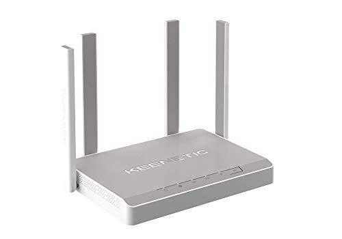 KEENETIC Titan (KN-1810) AC2600 DB Mesh Wi-Fi Gbit Router / Dual Core CPU / 5 puertos Gbit Smart Switch / SFP Combo Port / USB2 & 3 / Toda la casa & PYME / Caja inglesa/ Multilingüe incluyendo español