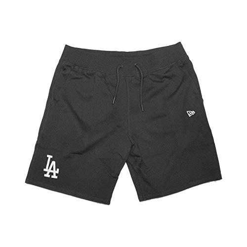 New Era Team Apparel ft Short Kurze Hose LOSDOD Linie Los Angeles Dodgers, Unisex Erwachsene, schwarz (BLK)