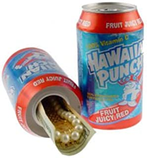 Hawaiian Punch Diversion Safe Stash Can w HumanFriendly Smell Proof Bag
