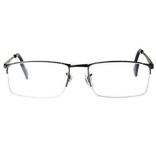 JIMMY ORANGE老眼鏡 半縁 金属製 超軽量 使いやすい おしゃれ老眼鏡 拡大鏡 ルーペ オシャレ リーディンググラス L6281
