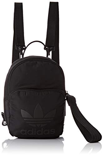 adidas Backpack XS, Mochila para Mujer, Negro (Negro), 24x36x45 cm (W x H x L)