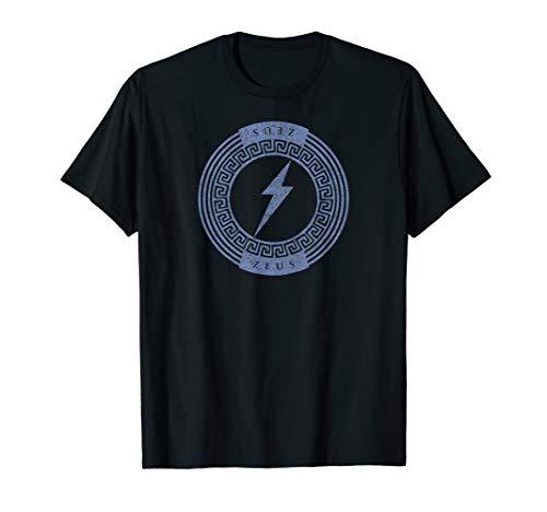 Greek God Zeus Lightning Bolt Symbol Mythology T-Shirt