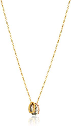 Mixed Metal Chain Necklace