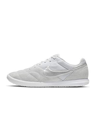 Nike The Premier II Sala, Scarpe da Calcetto Indoor Unisex-Adulto, Multicolore (Pure Platinum/Metallic Silver/White 000), 42 EU