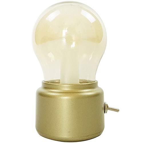 QXinjinxtd Lámparas para Habitaciones Lámpara de Mesa con luz Nocturna,lámpara de Escritorio LED Vintage,Puerto de Carga USB,luz Nocturna Regulable Industrial for dormitorios,Sala de Estar,exhibición