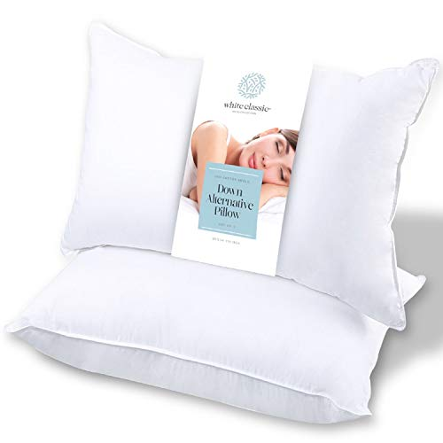 White Classic Hotel Bed Pillow