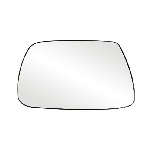 Fit System 88265 Jeep Grand Cherokee Left Side Power Replacement Mirror Glass with Backing Plate