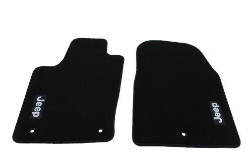 Genuine Jeep Accessories 82212175AB Black Carpet Floor Mat