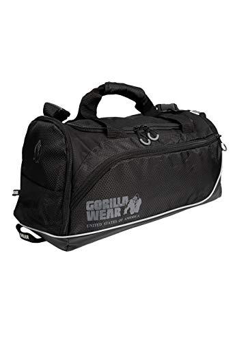 GORILLA WEAR Jerome Gym Bag 2.0 – Nero/Grigio