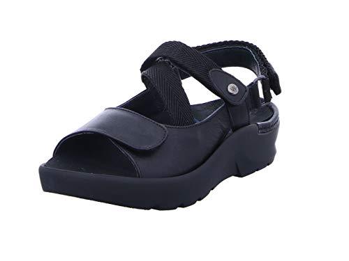 Wolky Comfort Sandalen Lisse - 35000 schwarz Leder - 42