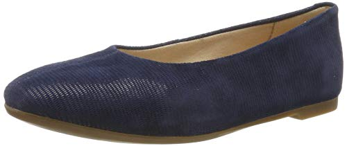 Clarks Chia Violet, Ballerine Donna, Blu (Navy Interest Navy Interest), 41 EU