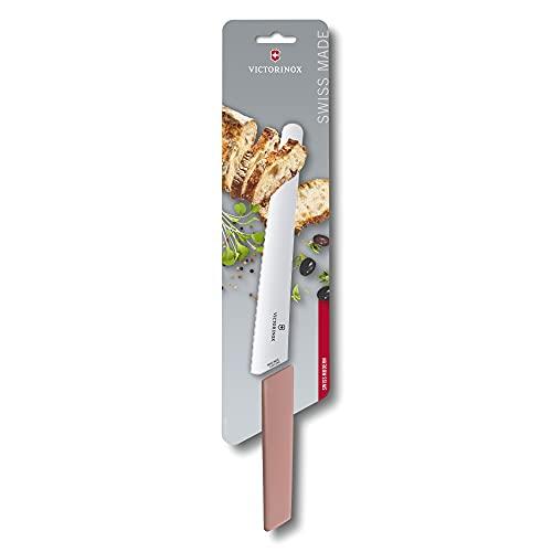 VICTORINOX(ビクトリノックス)ブレッド&ペイストリーナイフアプリコット22cmスイスモダン波刃ブレッドナイフパン切ナイフ6.9076.22W5B