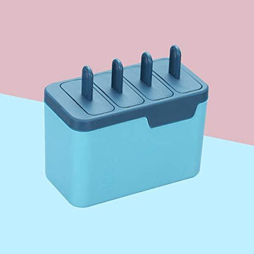 Molde de estilo creativo, diseño de molde de estilo creativo, delicioso y hermoso. Diseño del tanque de descongelación, la capa exterior se vierte en agua tibia, es fácil de descongelar y sacar helado Materiales en contacto con alimentos, use materia...