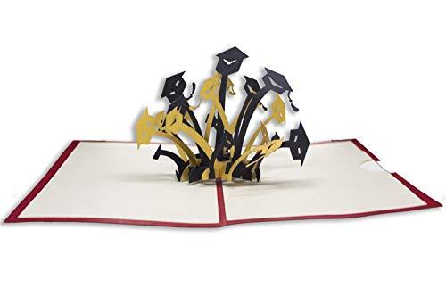 RF Distribution Biglietto di Auguri con Origami Surprise, Laurea