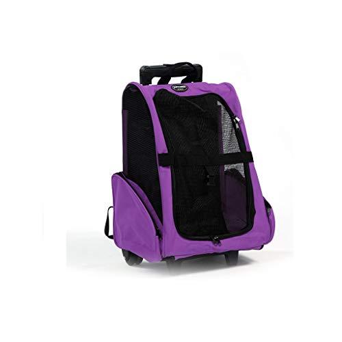 BTPDIAN trolley koffer terug hond uit draagbare reistas - kat rugzak - rugzak huisdier benodigdheden, 42x26x76cm, 2#