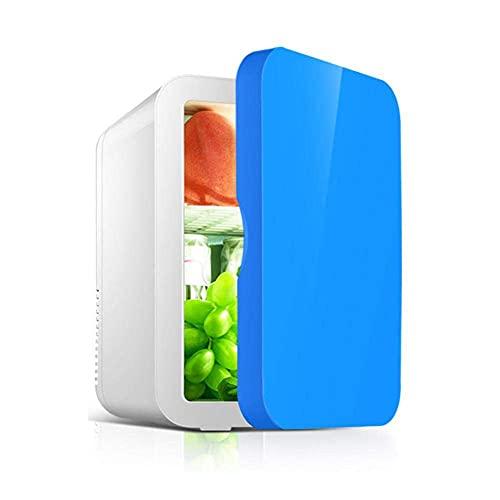 Peakfeng Portátil 8L Mini refrigerador refrigerador y Calentador Nevera compacta súper Tranquilo en vehículo congelador para Autos Casas Oficinas y dormitorios (Color : Blue)