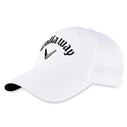 Callaway Golf Gorra Liquid Metal 2020 Blanca Ajustable