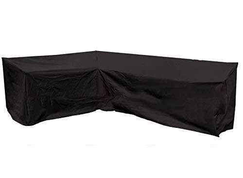 Ydq Fundas para Muebles De Jardín Funda Esquina Protectora Sofa Muebles 210D Tela Oxford Impermeable A Prueba De Viento Polvo Desgarro Y Protección UV,215 * 215 * 82cm