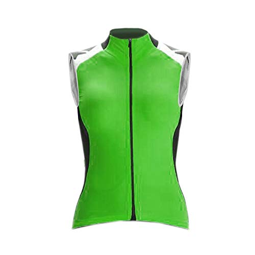 Uglyfrog Winter Fahrradweste Damen Radsport Weste Damen Winddicht Jacke Vlies Ärmellos Thermo Warm VestRGH01