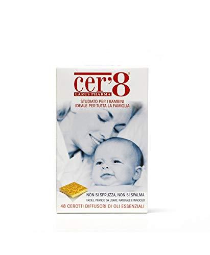 Farmacia Tolstoi_Larus Pharma Cer'8 Family Diffusori Di Oli Essenziali 48 Cerotti