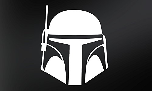 Star Wars Boba Fett–VINYL Aufkleber Aufkleber (Zwei Stück)