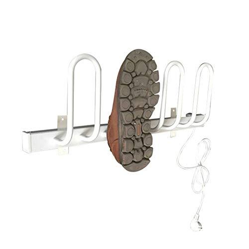 Schuhtrockner Elektrisch Wand- Energiespar Welly Schuhwagen Wasserdichten Multifunktionsschuh Heizung Geeignet Für Schuhe Und Socken,Weiß