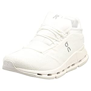 ON Running Mens Cloudnova Textile Synthetic White Trainers 11.5 US