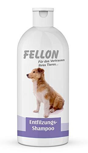 Fellon Entfilzungs Shampoo für Hunde   500 ml   Hundeshampoo   Löst verfilzungen sanft und...