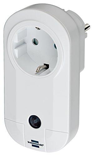 Brennenstuhl BrematicPRO Smarte Steckdose / Funksteckdose für Innen (per App, Fernbedienung oder Alexa steuerbar)