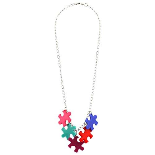 JOE COOL Oficialmente Autorizado 5 Pieza Puzzle Colores Collar