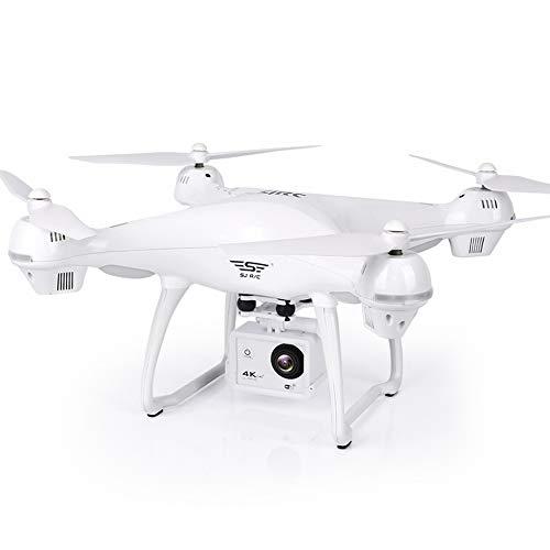 AG Fernbedienung Flugzeuge Gps Drohne Luftaufnahmen Flugzeuge Hd 4K Professionelle Lange Akkulaufzeit 16 Millionen Erwachsenen Hochzeit,Weiß,Einheitsgröße