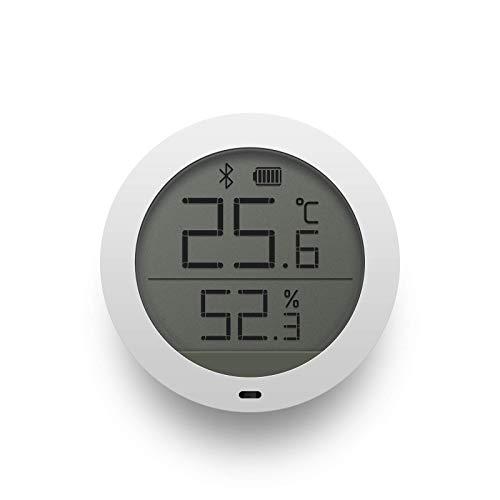 Xiaomi Mi Temperature And Humidity Monitor NUN4019TY, Monitor di temperatura e umidità con Bluetooth, Bianco