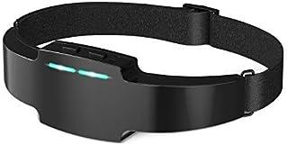 スリープ 睡眠器具 ヘット器具 頭着用式 USB充電 携帯便利 ギフト(ブラック)