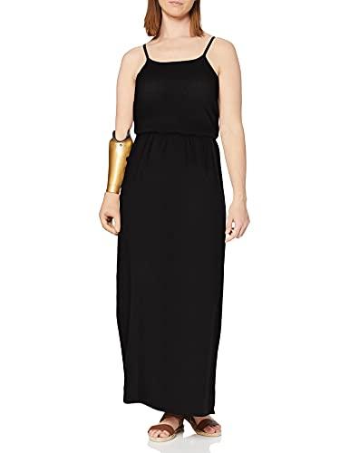 Only Onlwinner SL Maxidress Noos Wvn Vestido, Negro (Black Black), 36 para Mujer