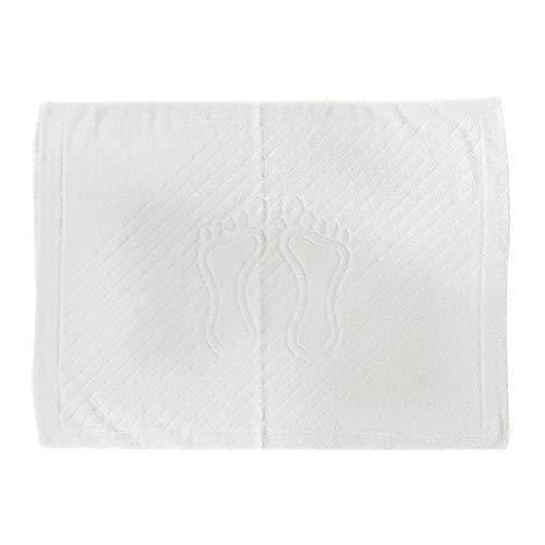 Handdoek® 100% katoenen badmatten 800gsm wit pluche super absorberend snel droog hotel kwaliteit badkamer tapijten voet handdoek 50x80cm