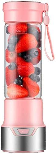 Mini Juicer Cup, Juice Blender, Smoothie Maker Met Flessen En 2 Roestvrij Staal Blade, Draagbare & Personal Mixer For GroentenFruit