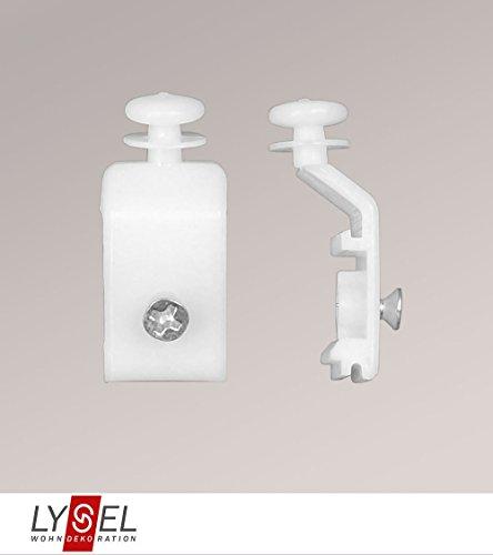 LYSEL® Schiebegardine Gleiter für Paneelwagen Höhe: 3,5 cm