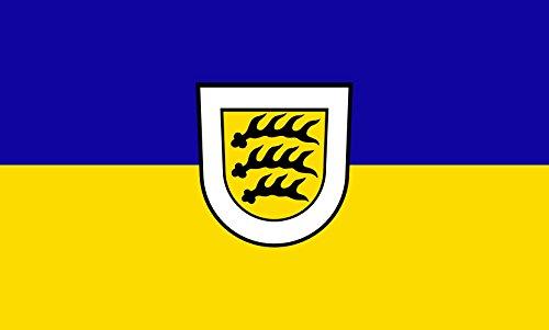 Unbekannt magFlags Tisch-Fahne/Tisch-Flagge: Tuttlingen 15x25cm inkl. Tisch-Ständer