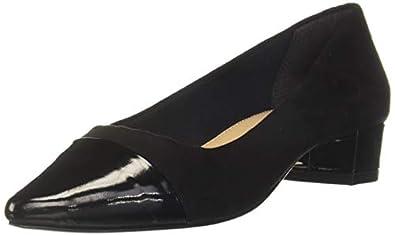 Carlton London Women's Black Ballet Flats