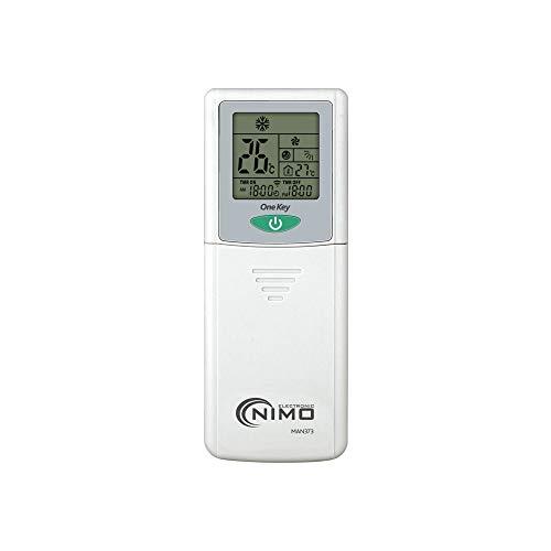 Afstandsbediening voor airconditioning, 4000 codes