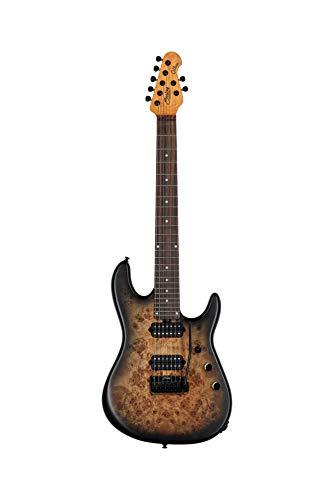 Sterling by Music Man 7-saitige E-Gitarre, rechts, natürliches Pappelburst (RICHARDSON7-NPB)