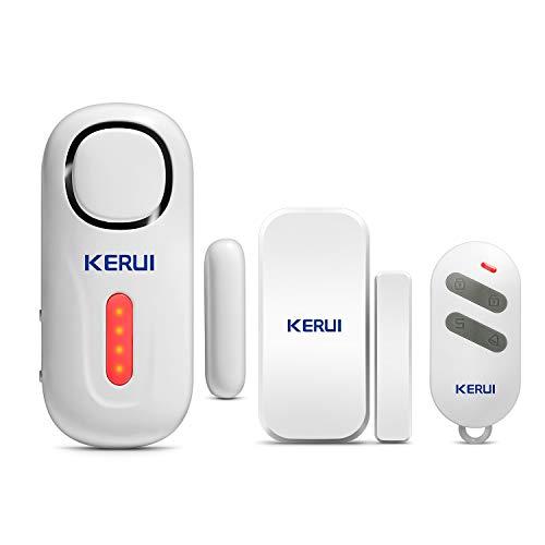 KERUI D2 Sensor de Alarma para Puertas y Ventanas para el Ho