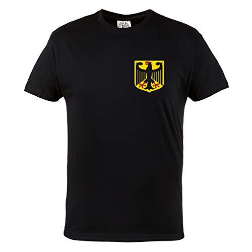 Rule Out Hombre Camiseta. Alemania. Fanático del Fútbol. Casual Fanswear (Talla Medium)