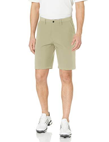 adidas Golf Ultimate 365 - Pantalones Cortos de Entrepierna de 9 Pulgadas (Modelo 2019), Hombre, Pantalones Cortos, CW4995, Oro Crudo, 52