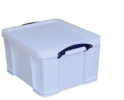 Really Useful Boîte de 3 x 18 l Extra Strong – 480 x 390 x 200 mm – Blanc